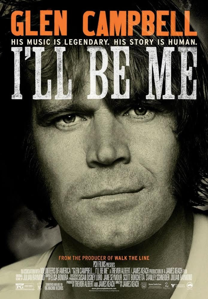 Glen Cambell I'll Be Me Poster